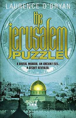The Jerusalem Puzzle, O'Bryan, Laurence, New Book