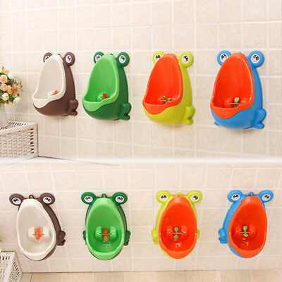 Boys Toddler Frog Urinal Kids Baby Potty Bathroom Toilet training Children Pee