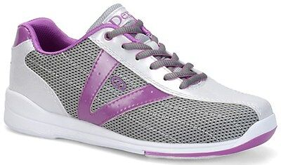 Dexter Vicky Silver/Purple Womens Bowling Shoes