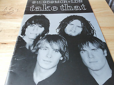 TAKE THAT  paperback book FROM US TO YOU    PHOTO SHOTS OF THE BOYS