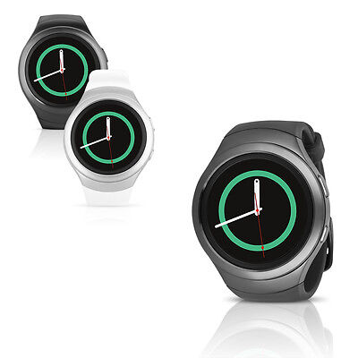 Samsung Gear S2 SM-R720 Smartwatch w/ Rubber Band - Small & Large