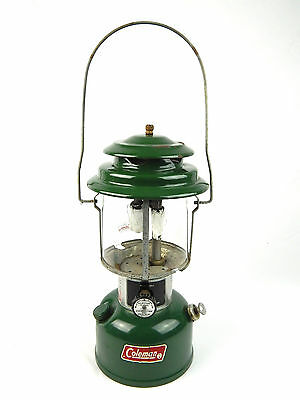 Vintage Coleman Model 220J Double Mantle Lantern 5/79 Vg Condition