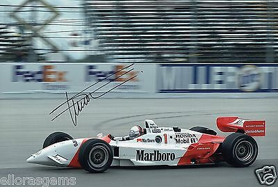 "Indy Car Driver Gil de Ferran Hand Signed Photo Autograph 12x8"" AI"