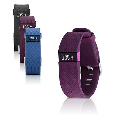 Fitbit Charge HR Wireless Heart Rate & Activity Tracker Wristband Small & Large