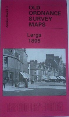 OLD ORDNANCE SURVEY DETAILED MAP LARGS AYRSHIRE SCOTLAND Sheet 3.12 New