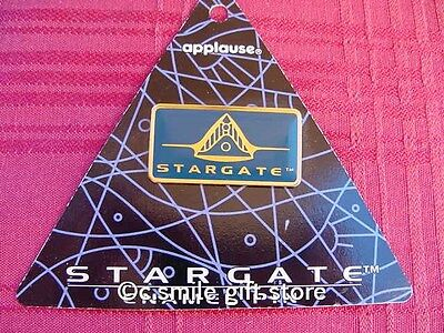 Stargate *LOGO Gold-tone Metal & Enamel Pin* from Applause Never Used RARE