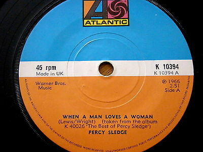 Percy Sledge - When A Man Loves A Woman / My Special Prayer / Baby Help Me