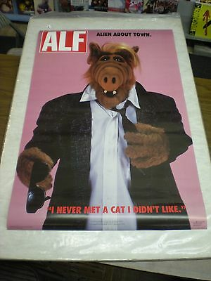 Vintage ALF About Town poster (22 x 34 inches)  Original and Authentic