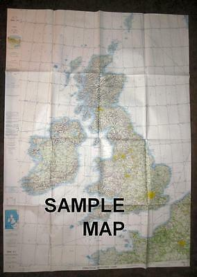 6 Air Force NAVIGATION CHARTS 1970's United States