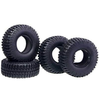 RC AUSTAR Rubber 1.9inch Climbing Tires with Sponge For 1:10 4WD Rock Climbing