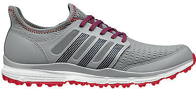 a5e1ced09c1738 ADIDAS CLIMACOOL GOLF Shoes 2015 Mid Grey Red Q44603 Mens New ...