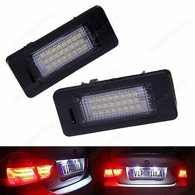 LED License Number Plate Light Lamp Bulb BMW E90 E91 E92 E93 F30 F31 F35 F80 M3