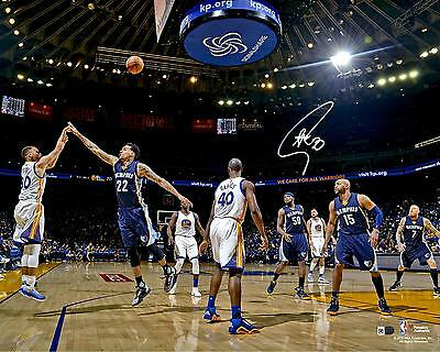 Autographed Stephen Curry Warriors 16x20Photo Item#6232615