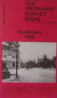 Old Ordnance Survey Maps Headingley near Leeds Yorkshire 1906 S203.13 New