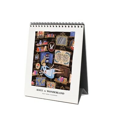Alice in Wonderland Easel Calendar