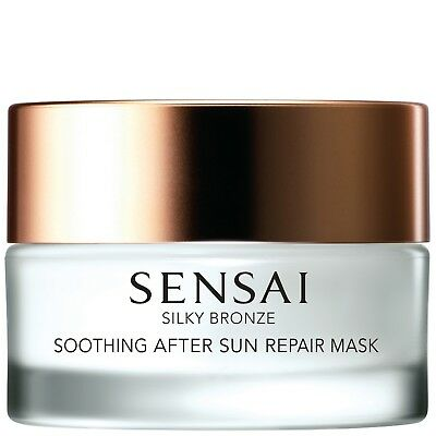 NEW SENSAI Silky Bronze Sun Care Soothing After Sun Mask 60ml FREE P&P