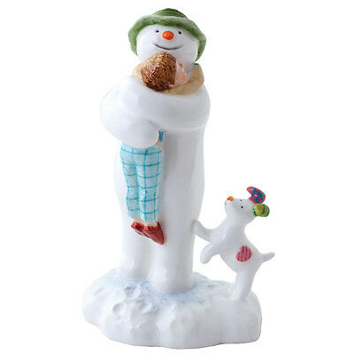 John Beswick The Snowman Hugging Billy Figurine