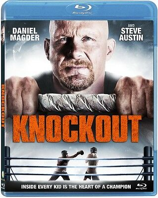 "Knockout (Blu-ray) Steve (""Stone Cold"") Austin, Daniel Magder NEW"