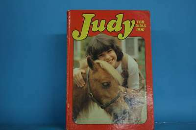 Judy for Girls 1981 (Annual)  Very Good Book