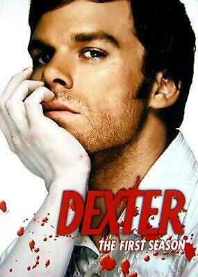 Dexter:complete First Season - DVD Region 1 Free Shipping!