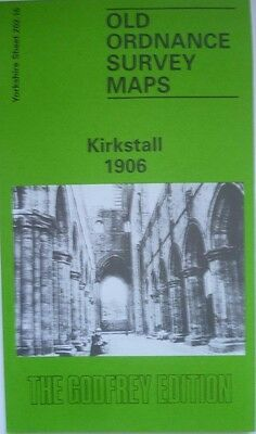 Old Ordnance Survey Detailed Map Kirkstall  Yorkshire 1906 Godfrey Edition New
