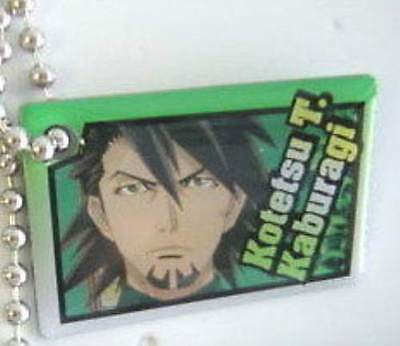 TIGER & BUNNY Key Chain Mascot next members Metal Plate Kotetsu T. Kaburagi