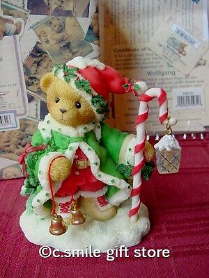Cherished Teddies *WOLFGANG* #706701 Ltd Ed 2000 Christmas Enesco MIB Ret