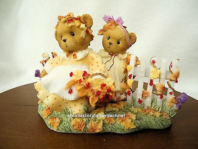 Cherished Teddies Bonnie and Kay Fall 2007 Event Excl LE NIB  SIGNED