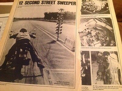 How To SuperTune 1971 Honda 750 Motorcycle Faster Smoother 4 Pages 18 PhotoSteps