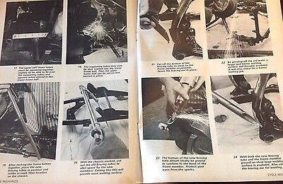 How To Modify Chassis, Suspension 1968 Yamaha DT-1 250 Enduro 11 Pages 28 Steps