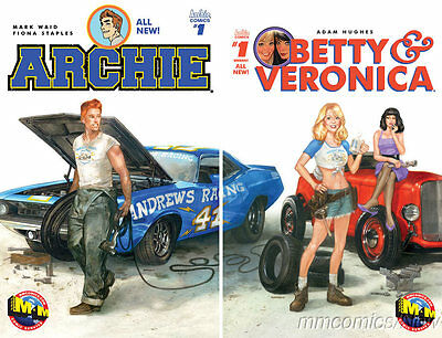 Archie #1 and Betty & Veronica #1 M&M Exclusive Dave Dorman Joining Variant Set