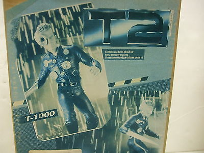 1991 Classic Plastic Terminator 2 Judgment Day T-1000 Resin Model Kit with Box