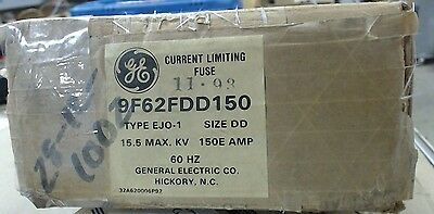 NIB GE current limiting fuse 9F62FDD150 size DD Type EJO1 - 60 day warranty