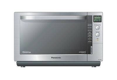 Panasonic 27L Inverter Steam Grill Microwave Oven Flatbed S/steel Nn-Cs596S