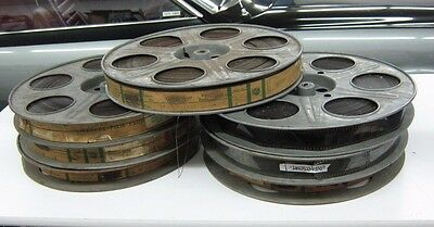 35MM Feature Movie 1959 Operation Petticoat 7 Reels Action Cart Grant Tony Curti