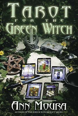 Tarot for the Green Witch by Ann Moura (English) Paperback Book Free Shipping!