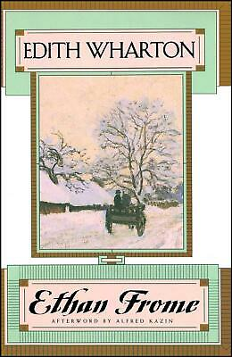 Ethan Frome by Edith Wharton Paperback Book (English)