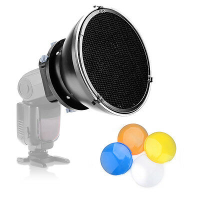 Pergear Honeycomb +Filter +Mini Beauty Dish +Universal Adaptor Acces