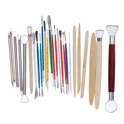 26pcs Clay Sculpting Set Wax Carving Pottery Tools Shapers Polymer Modeling