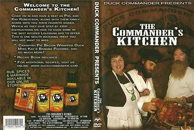 Duck Commander The Commander's Kitchen Cooking Recipes Duck Dynasty DVD NEW