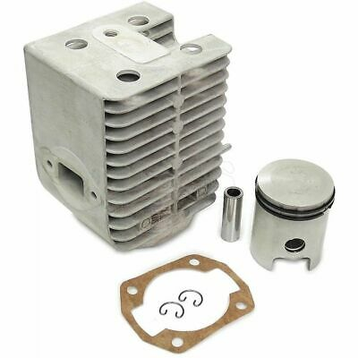 Later Type Cylinder & Piston for Wacker WM80 Engine (Oval Exhaust Port)