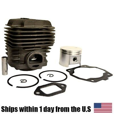 Cylinder Piston Fit Stihl TS400 Concrete Saw 49MM Rings Gasket 42230201200