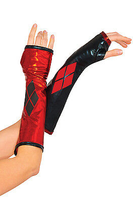 DC Comics - Harley Quinn Adult Arm Gloves Gauntlets Accessory