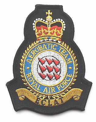 RAF Red Arrows Official Crest Royal Air Force Military Embroidered Patch