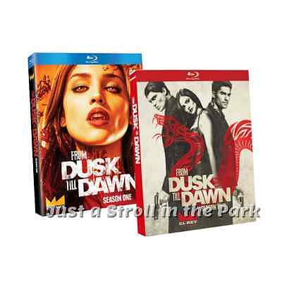 From Dusk Till Dawn: TV Series Complete Seasons 1 & 2 Box / Blu-Ray Set(s) NEW!