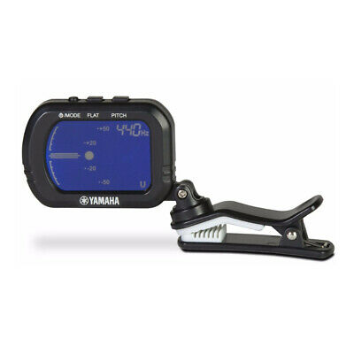 Yamaha GCT1 Clip-On Chromatic Tuner for Guitar, Ukulele, Violin, and Cello