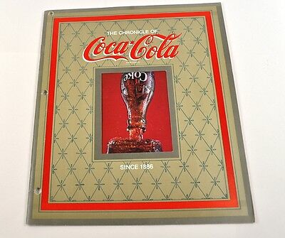 Coca Cola Coke USA Heft Magazin Chronik - The Chronicle of Coca-Cola - 1979