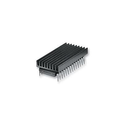 GA69519 ICK 40 B Fischer Elektronik Heat Sink, Dip, Glue-On, 46°C/W