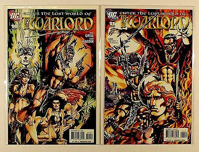 The Warlord Dc Lot Of 2 Comics #10 11 (Vf/nm)