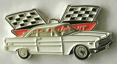 Ford Falcon XP Coupe white  lapel pin badge.    G021201